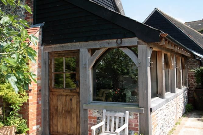 Oak Framed Barn Extension in Arundel