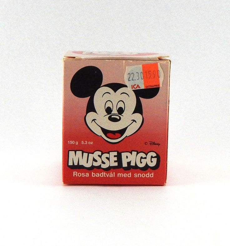 Vintage Mickey Mouse Soup On A Rope - Made In Sweden By Victoria - Mikki Hiiri - Mikke Mus - Musse Pigg - Walt Disney - Scandinavian