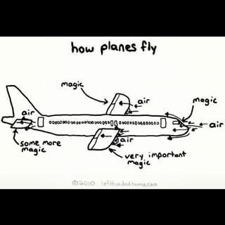 Learn how airplanes actually fly. | 25 Brilliant Ways To Deal With Your Fear Of Flying
