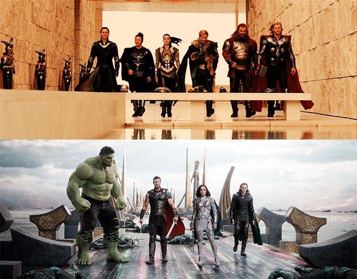 Team Thor (2011) & Team Thor: Ragnarok (2017)