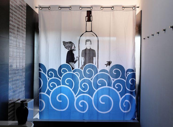 M s de 25 ideas incre bles sobre cortinas de ducha en - Cortinas bano originales ...