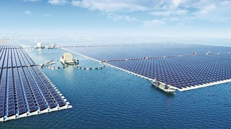 World's largest floating solar farm is now generating energy in China - Sungrow, China, Huainan, floating solar farm, solar, renewable energy, http://egardeningtools.com/product-category/generators/