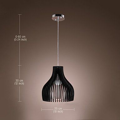 60W Comtemporary Acrylic Pendant Light With 1 3
