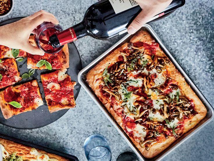Roman Pizza Recipe  - Brooks Reitz   Food & Wine