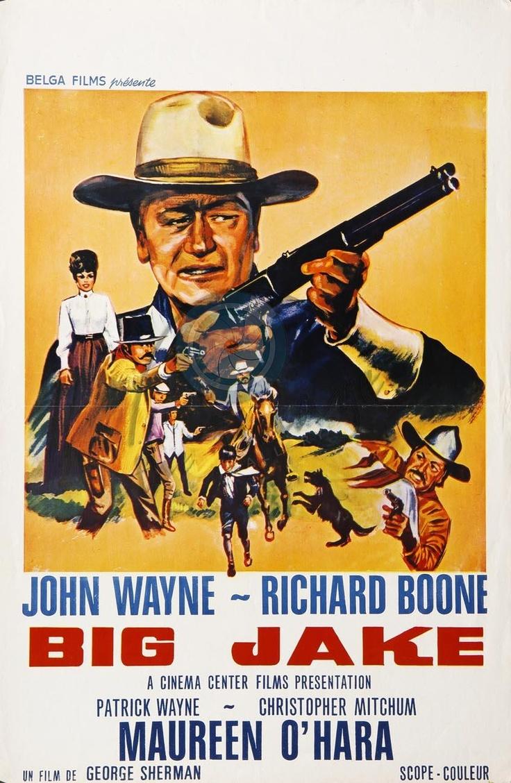 Big Jake (1971) John wayne, Classic movie posters, Movie