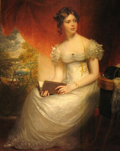 Kitty Packe by Henry William Beechey, ca 1820 UK, Oklahoma City Museum of Art