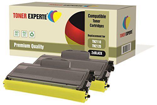 Pack 2 TONER EXPERTE® Compatibles TN2110 TN2120 Cartouches de Toner pour Brother DCP-7030, DCP-7040, DCP-7045N, HL-2140, HL-2150, HL-2150N, HL-2170, HL-2170W, MFC-7320, MFC-7340, MFC-7345DN, MFC-7440N, MFC-7840W #Pack #TONER #EXPERTE® #Compatibles #Cartouches #Toner #pour #Brother