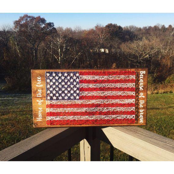 American Flag string art, american flag, american flag wall art, american flag wood, american flag wall hanging, american flag art, america