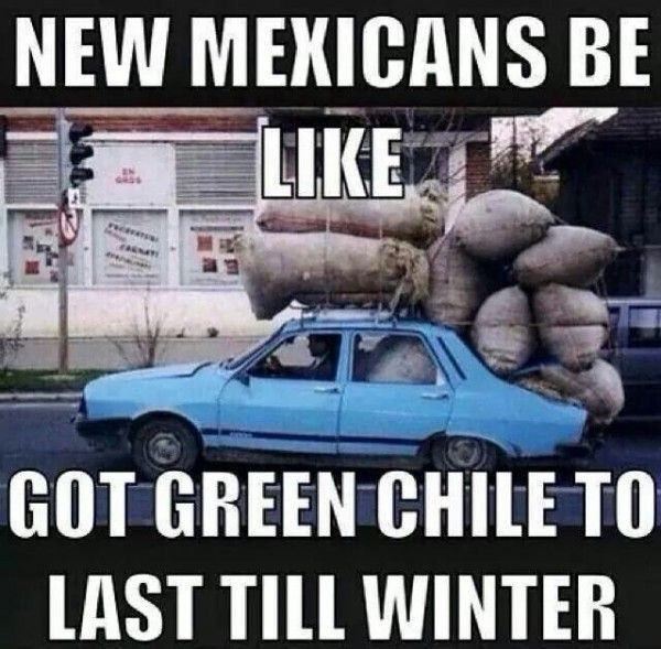 Not a big surprise, that we all love New Mexico. Here are some funny New Mexico Memes, that you'll definitely understand. After all, all us New Mexicans will un