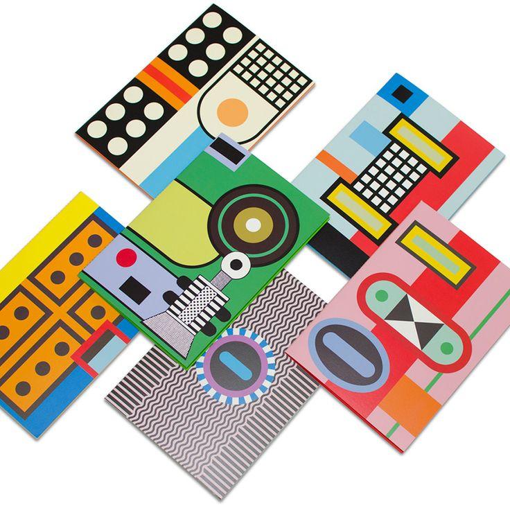 Colourful notebooks by Nathalie du Pasquier | ELLE Decoration UK