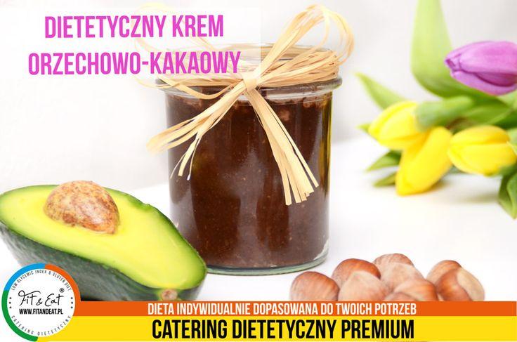 Dietetyczny krem orzechowo-kakaowy