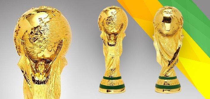$33 for a 2014 Brazil World Cup Trophy Collectible