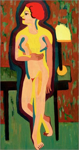 Ernst Ludwig Kirchner - Red-Haired Nude