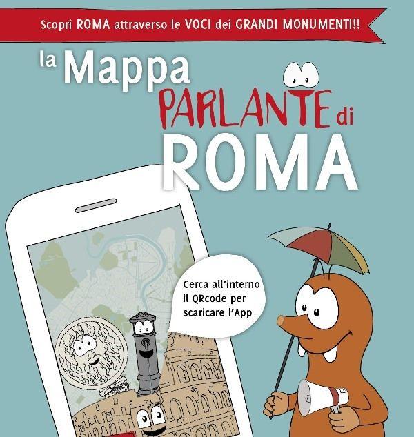 """""""La #mappa #Parlante  ha scelto #Roma la #Città Eterna come lancio del #prototipo di #guida interattiva a misura di #condivisione #genitore-#figlio. #arte #colosseo #applicazione #app"""