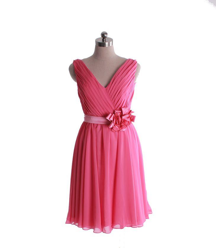 Very classy bridesmaid dress.