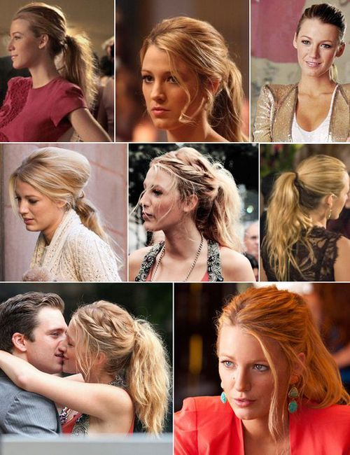 """The Good: Serena Van Der Woodsen's Ponytail 