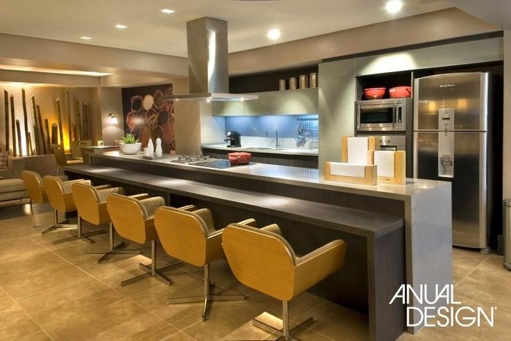 Sala De Jantar Letra Scracho ~ cozinhaamarelobrancocinza As bancadas de pedra cinza e de laminado