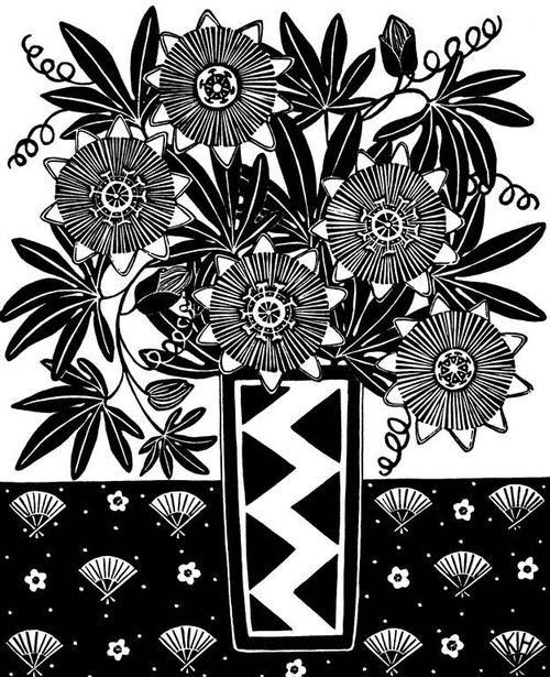 Kate  Hudson - Passionfruit and Zigzag Vase