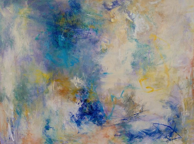 """Out of the Blue"" by Patricia Schwimmer 30"" x 40"""