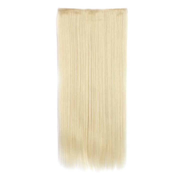 70cm 140g Invisible Hair Extension 5 Cards Wig 60/613