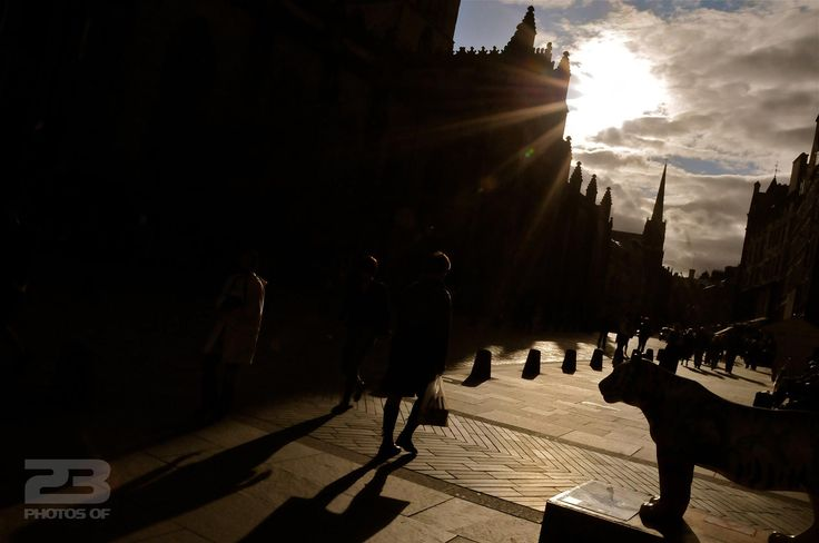 Late Afternoon on the Royal Mile photo | 23 Photos Of Edinburgh