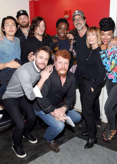 TWD cast, NYCC, October 8, 2016