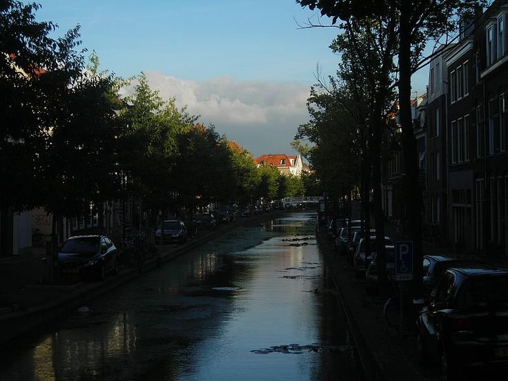 A quiet afternoon in Delft, Holland.