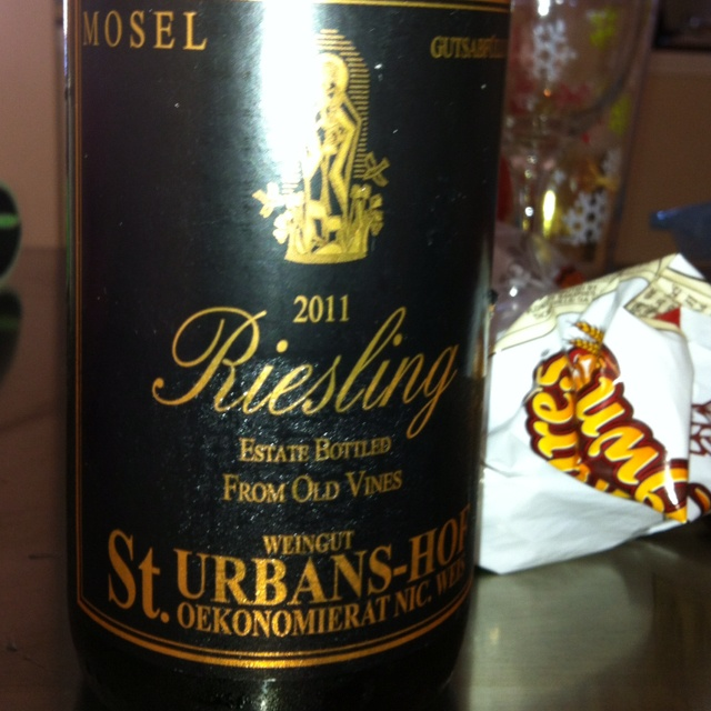 Great Riesling 2011 - Shared with my friend Robbie