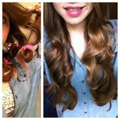Heatless Curls Tutorials on Pinterest | Headband Curls Tutorial ...""