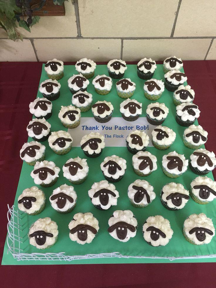 Pastor appreciation cupcakes Pastor appreciation gifts