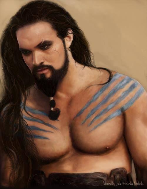 Khal Drogo | Game of Thrones | Pinterest