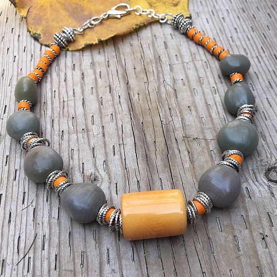 Tagua Nut Necklace Natural Seed Necklace Natural Seed Beads