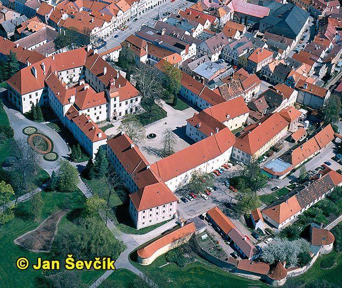 Picture of Třeboň town, Czech Republic