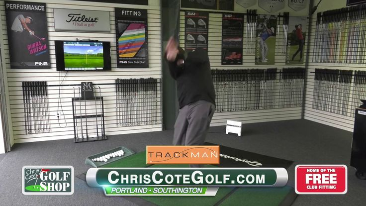 Chris Cote Golf: Trackman Launch Monitor - Chris Cote's Golf Shop, the most complete golf shop and fitting center in CT! Now offering the Trackman Launch Monitor, the most accurate in ball flight and club data measurement. http://www.chriscotegolf.com