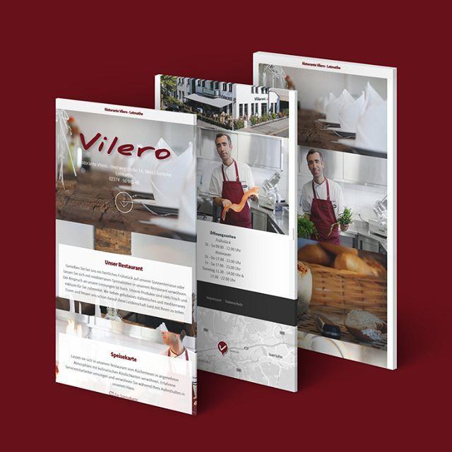 #vilero #ristorante #letmathe #iserlohn #budde #mediendesign #app #responsive #website #soe #fotografie #food