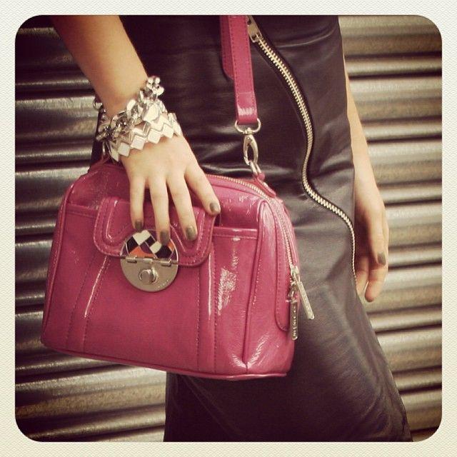 Pink mimco bag