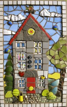 mosaic houses - Google Search