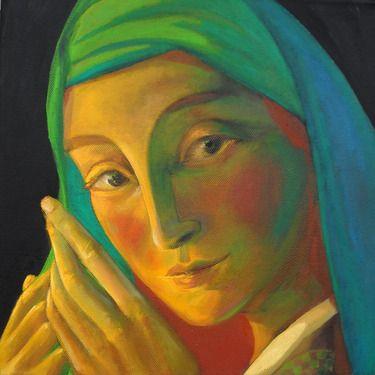 luminosa1  oil on canvas 30x30 2012