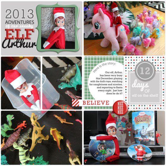 ... 12 Days of Elf on the Shelf digital kit from Birdwing Paper Designs