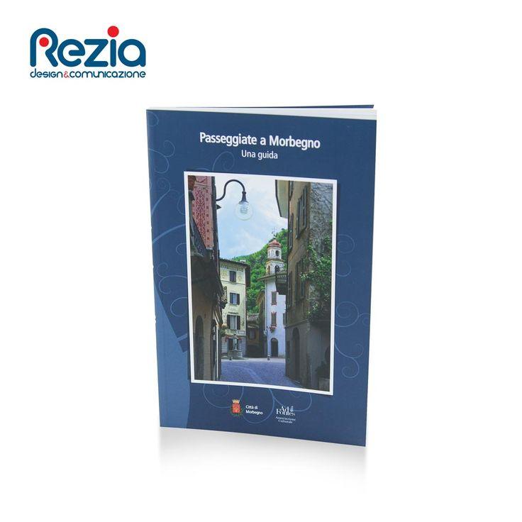 Guida con cartina annessa con indicati dei percorsi culturali nella Città di Morbegno (SO)