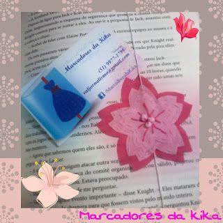 Marcadores da Kika: Flor de cerejeira