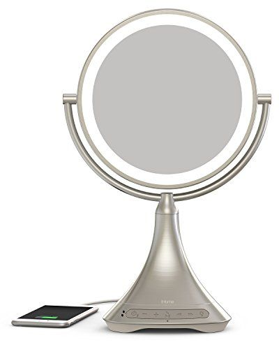 iHome Vanity Mirror with Bluetooth Speaker - Save 20% at Bed Bath & Beyond with coupon.
