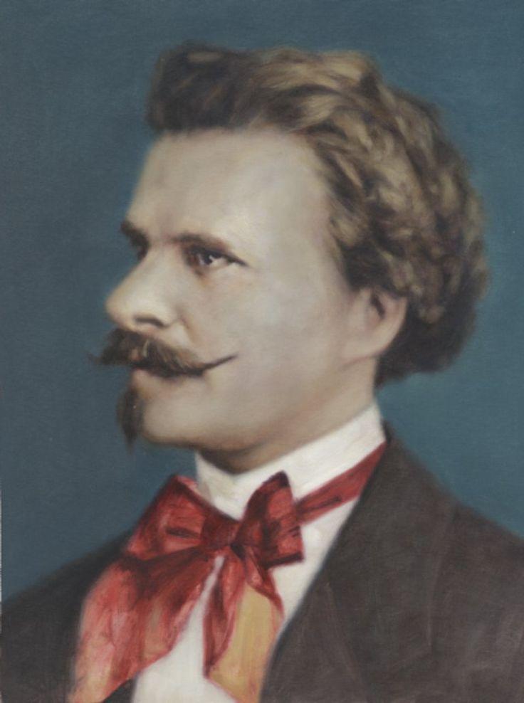 Eduard Strauss, Painting