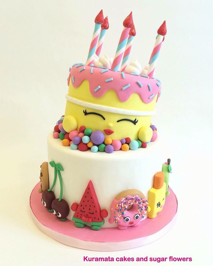 The 25+ Best Shopkins Cake Ideas On Pinterest