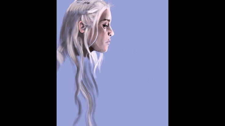 GAME OF THRONES Daenerys Targaryen MOTHER OF DRAGONS Digital art