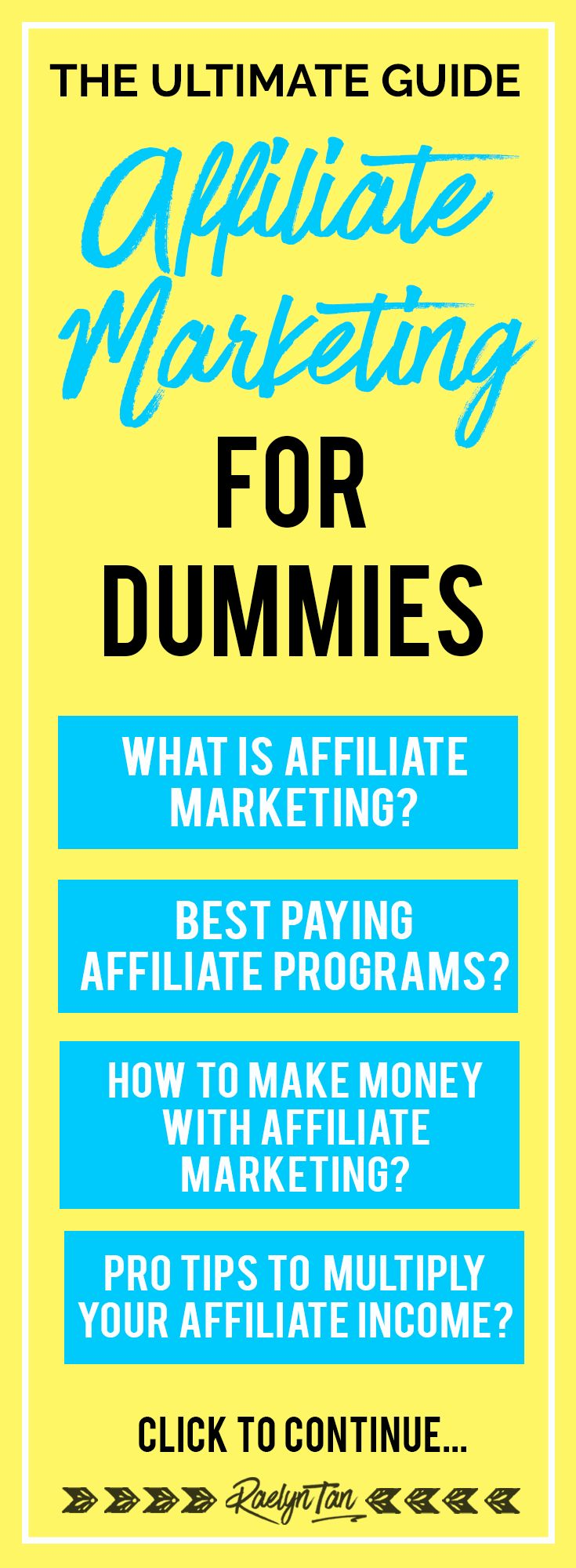 The Ultimate Guide: Affiliate Marketing For Dummies. Learn how to make your blog's success inevitable at nextlevelblogging.com