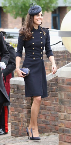Kate Middleton. I don't know that I would wear this, but she makes me feel like I could.