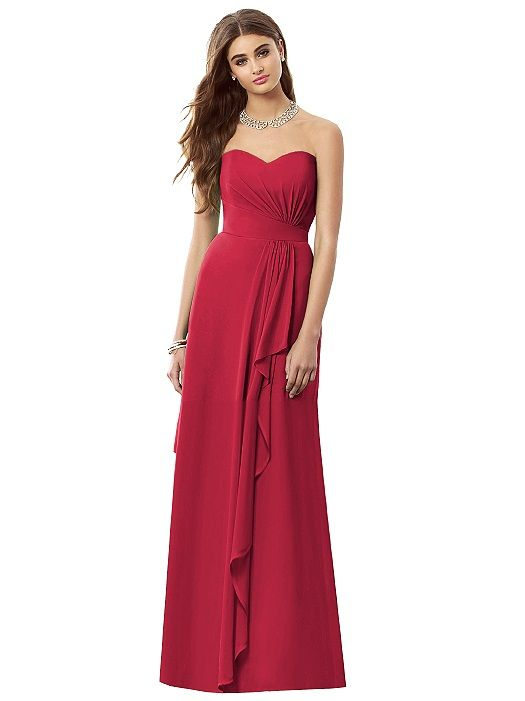 After Six Bridesmaid Dress 6684 (shown in valentine)