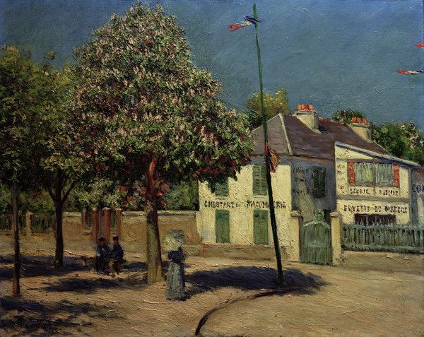Gustave Caillebotte-Promenade in Argenteuil