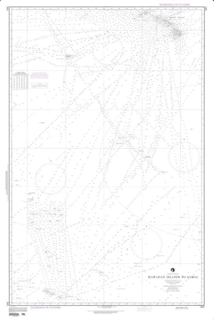 HawaiIan Islands To Samoa (NGA-541-2) by National Geospatial-Intelligence Agency